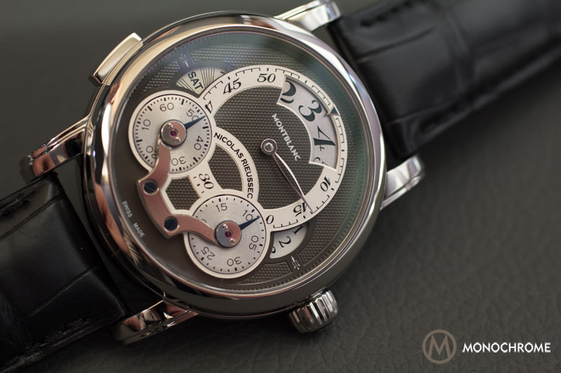 Montblanc Nicolas Rieussec Rising Hours stainless steel