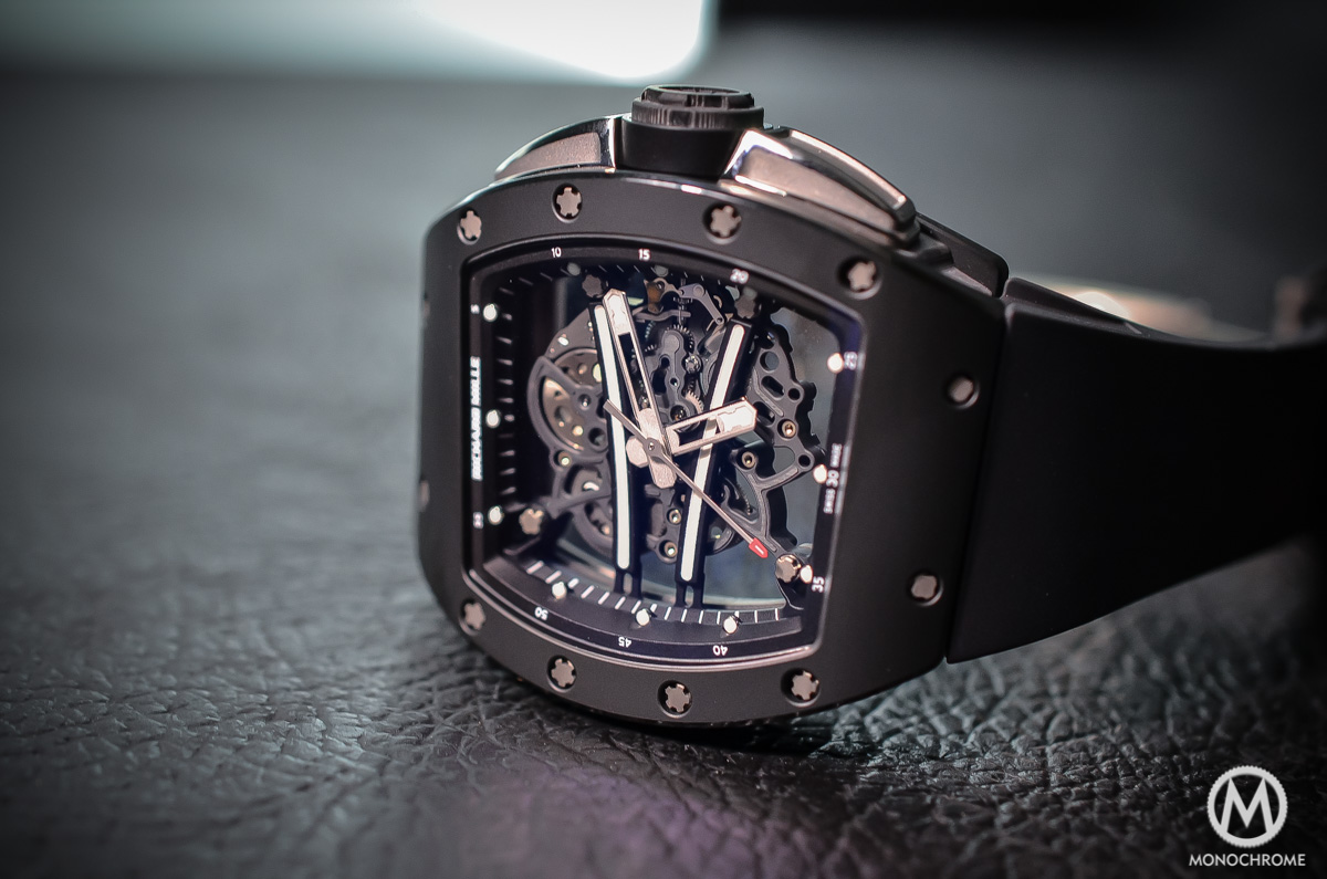 Richard Mille RM 61-01 Yohan Black 'Full Black' – Hands-on with live photos