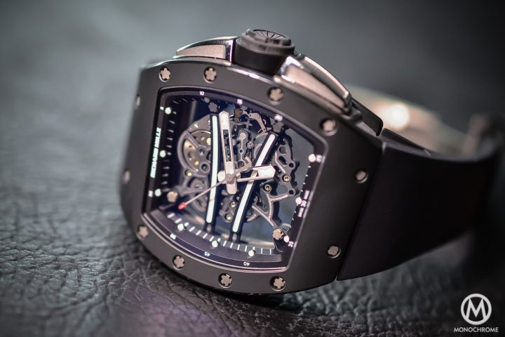 Richard Mille Rm 61 01 Yohan Blake Limited Edition Hands