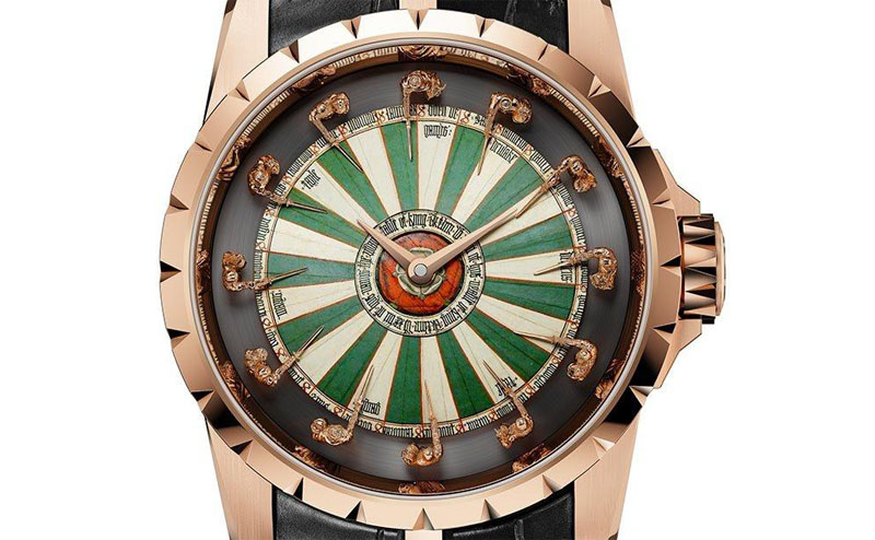 Roger dubuis excalibur automatic limited edition knights - Roger dubuis knights of the round table watch ...