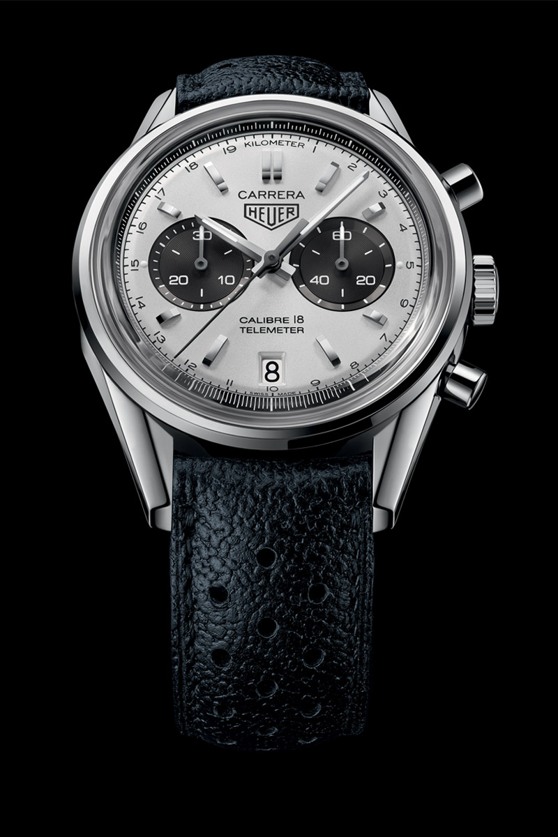 Back To Basics With The TAG Heuer Carrera Calibre 18 Chronograph