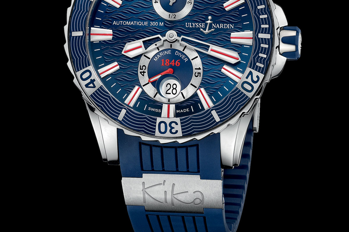 Unique Ulysse Nardin Marine Diver to be auctioned for KiKa – Kids without Cancer Foundation