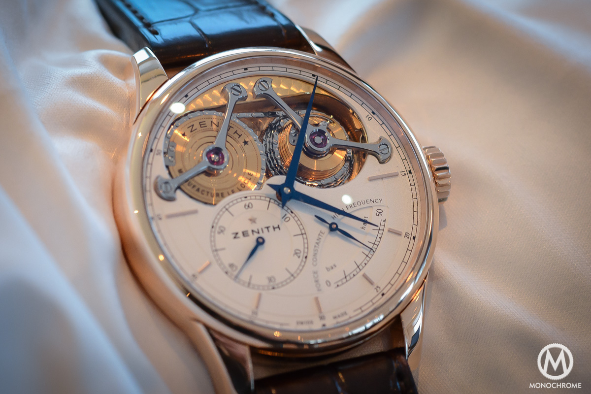 Zenith Academy Georges Favre-Jacot with Fuse-Chain – hands-on with live photos, specs and price