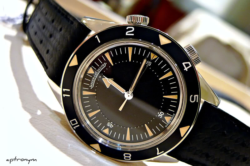 Image result for jaeger lecoultre memovox tribute to deep sea