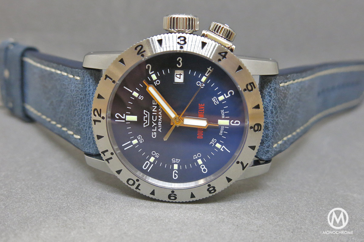 Glycine Airman Double Twelve Blue