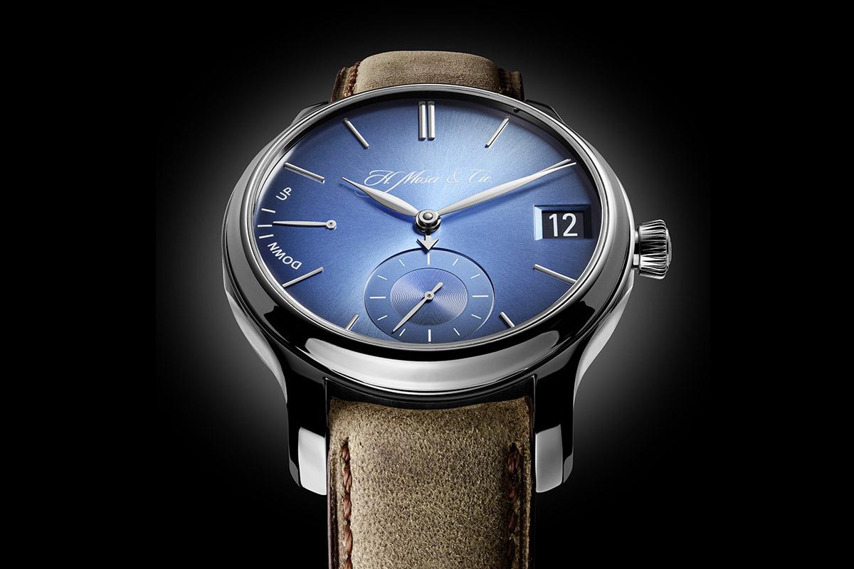 H. Moser Cie Endeavour Perpetual Calendar Funky Blue - 3