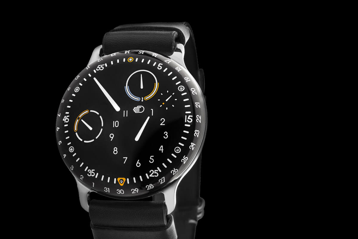 Pre baselworld 2015 new ressence type 3 with updated features monochrome watches for Ressence watches