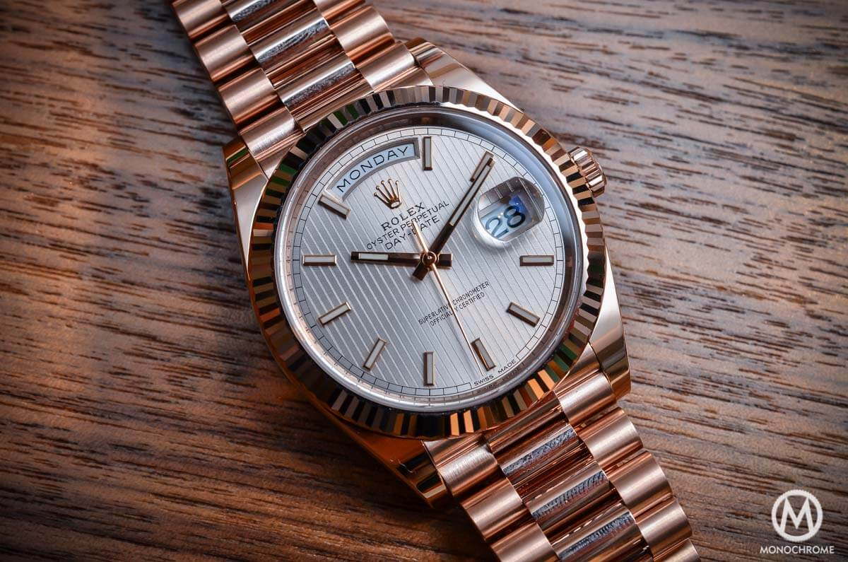 Introducing the Rolex Day-Date 40 with the new Calibre ...