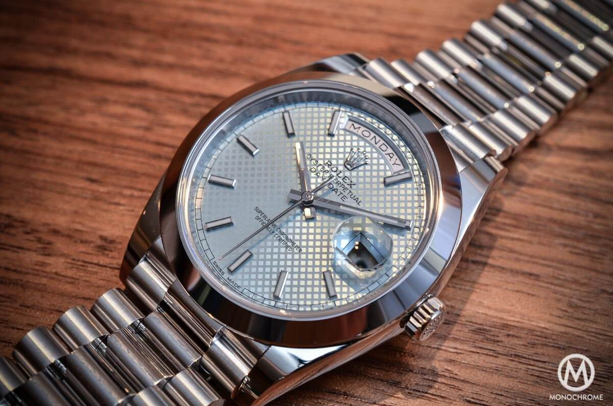 Rolex Day-Date 40 Baselworld 2015 - 4