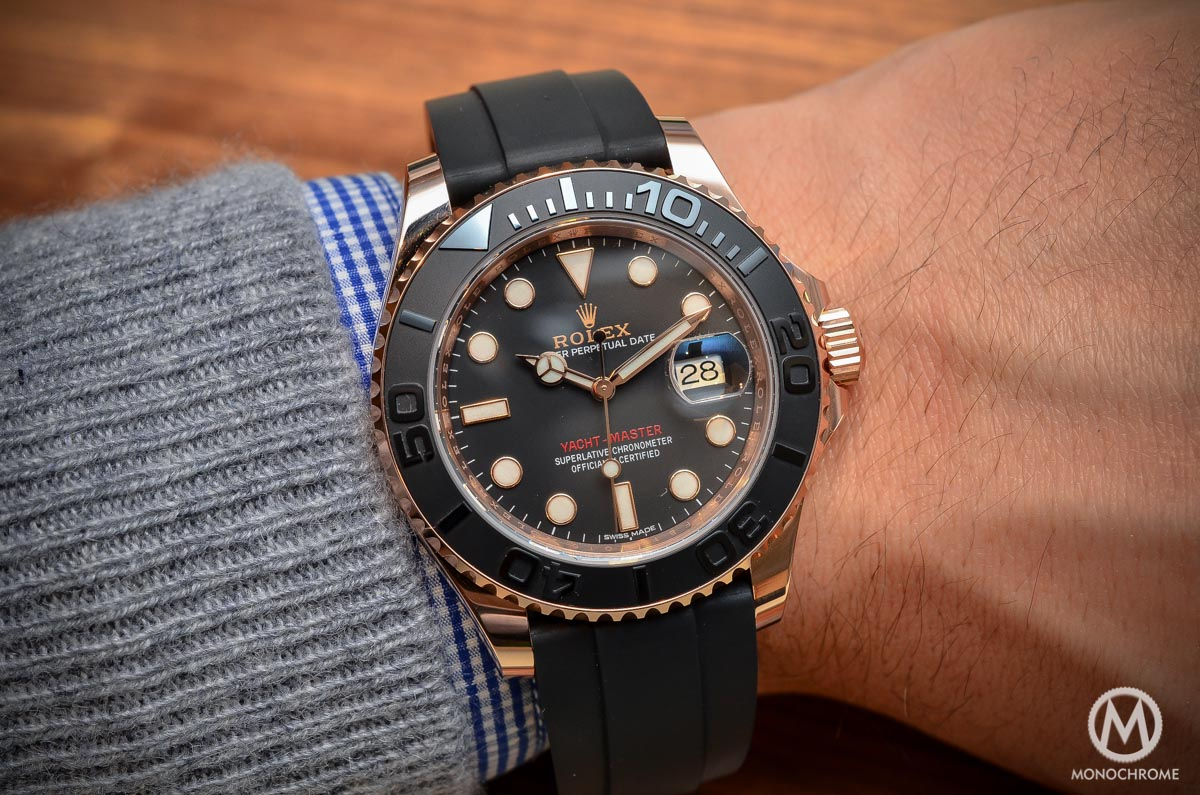 Hands-on with the Rolex Yacht-Master 116655 (Everose gold ...