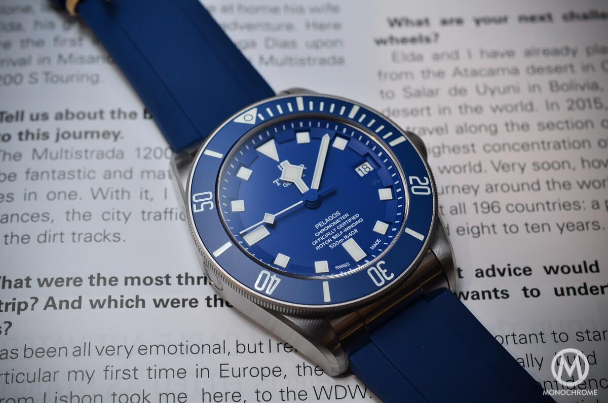 Tudor Pelagos Blue Baselworld 2015