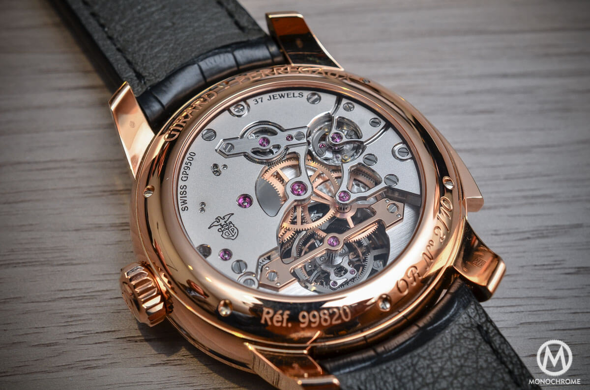 Girard-Perregaux Minute Repeater Tourbillon with Gold Bridges - 5