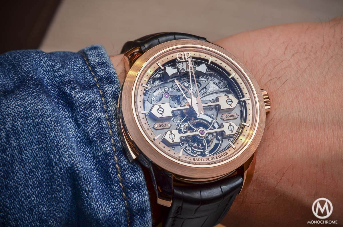 Girard-Perregaux Minute Repeater Tourbillon with Gold Bridges - 7