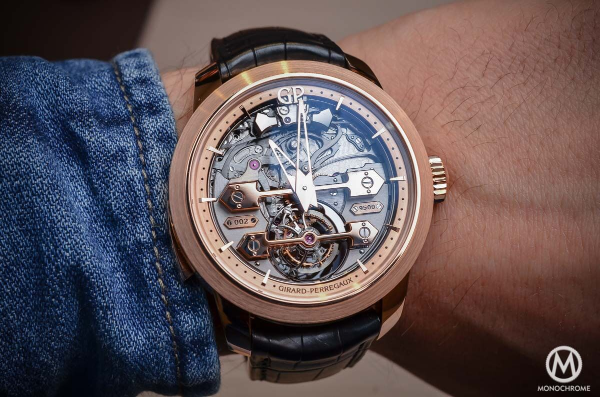 Girard-Perregaux Minute Repeater Tourbillon with Gold Bridges - 8