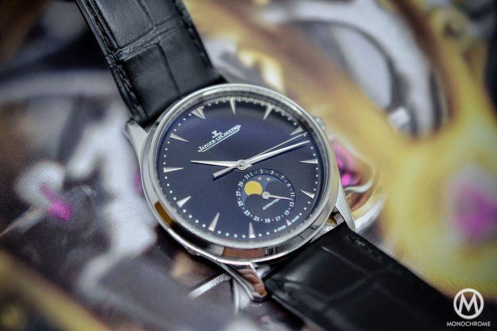 Hands-on with the Jaeger-Lecoultre Master Ultra Thin Moon 39 black dial from SIHH 2015 (specs & price)