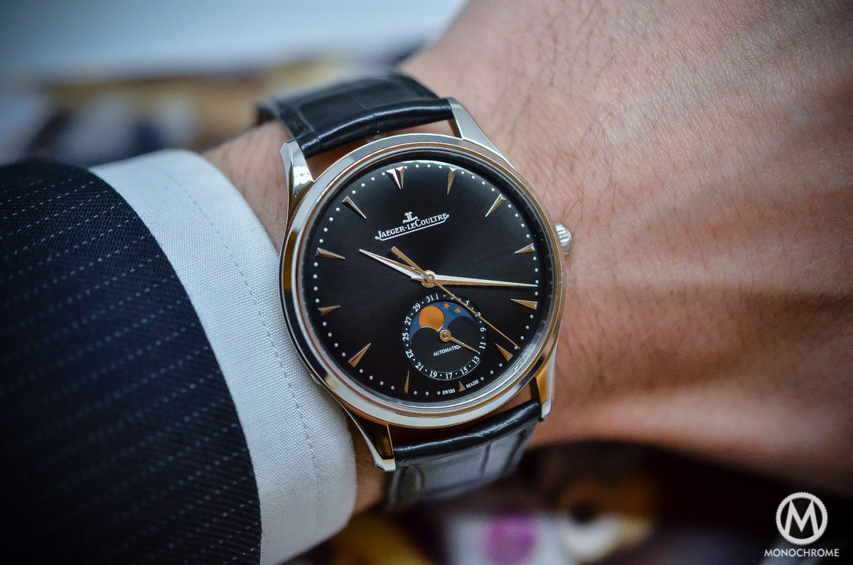 Hands on with the jaeger lecoultre master ultra thin moon 39 black