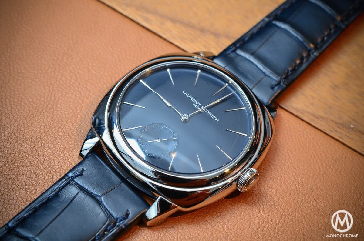 Laurent Ferrier Galet Square In Stainless Steel Hands On