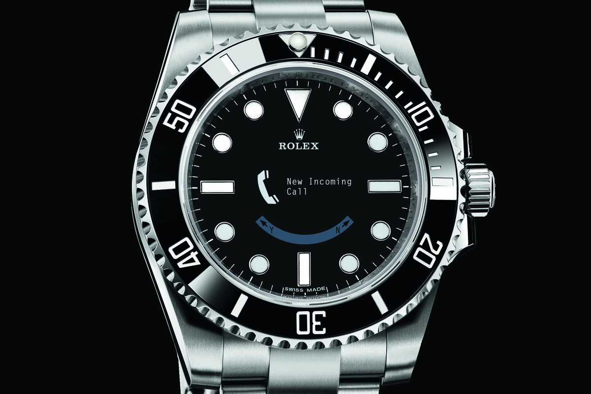 rolex joins smartwatch race monohrome watches. Black Bedroom Furniture Sets. Home Design Ideas