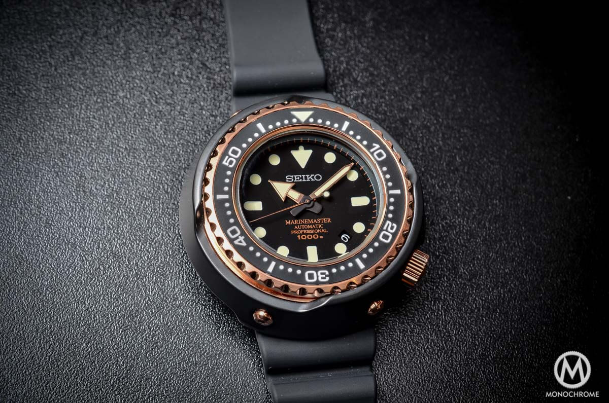 Seiko Marinemaster 1000m Emperor Tuna Rose Gold SBDX014 - 4