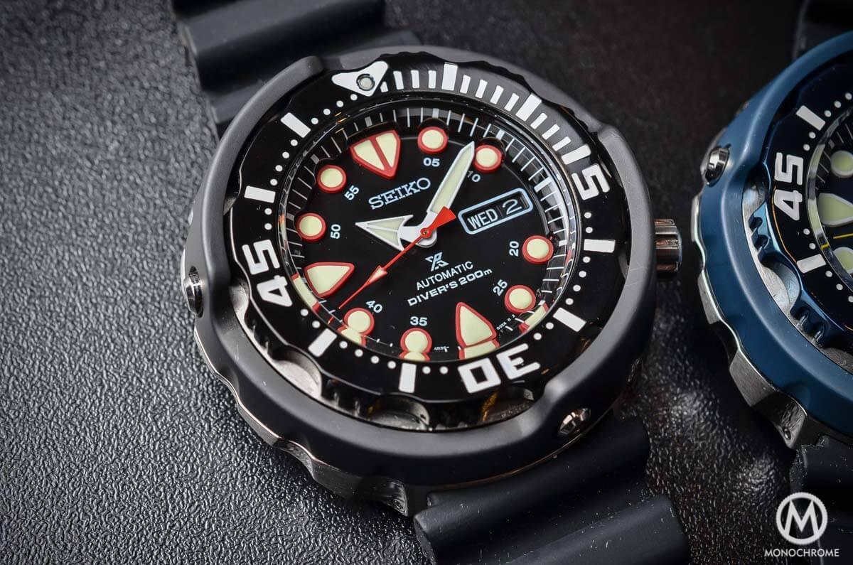 Seiko Prospex Automatic Diver 200m black SRP655K1 - 1