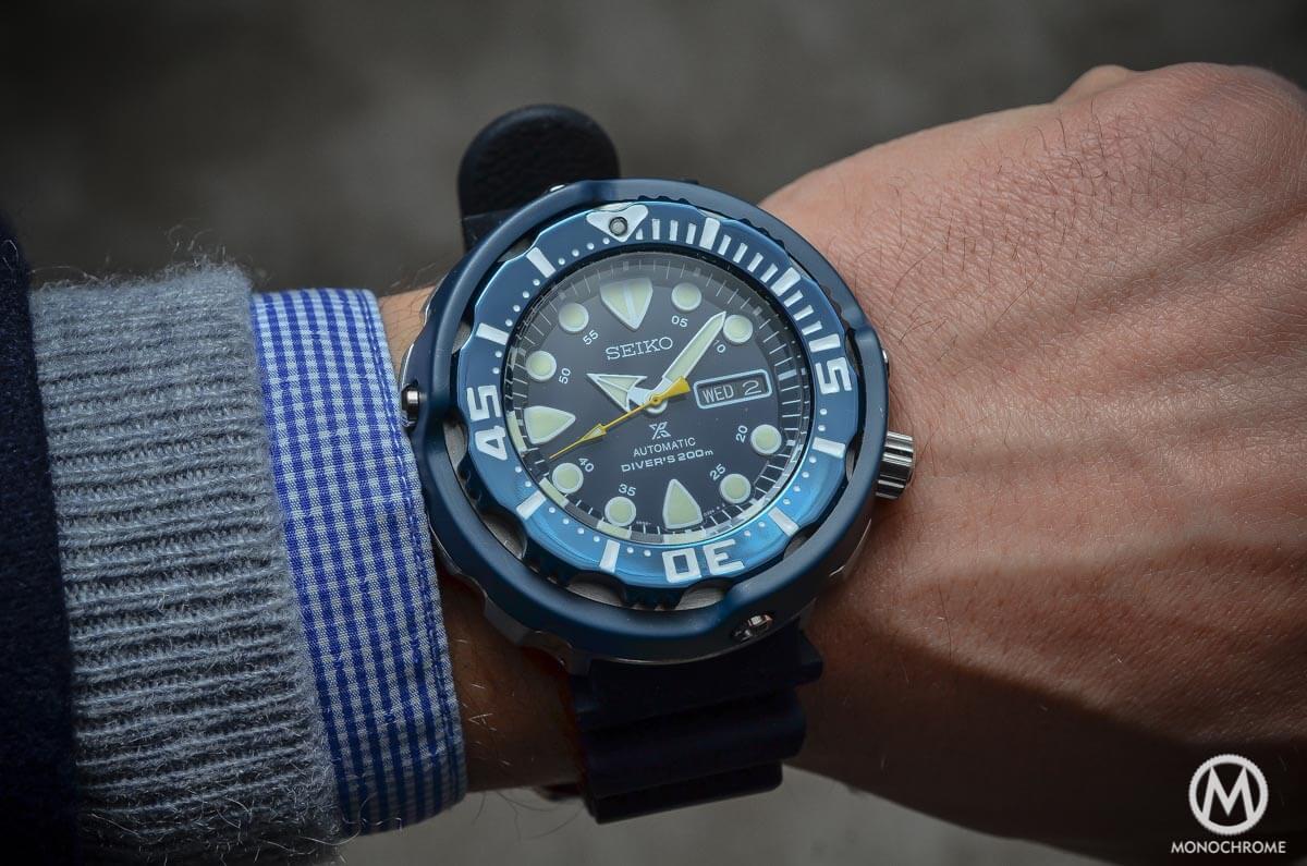Seiko Prospex Automatic Diver 200m blue SRP653K1 - 2