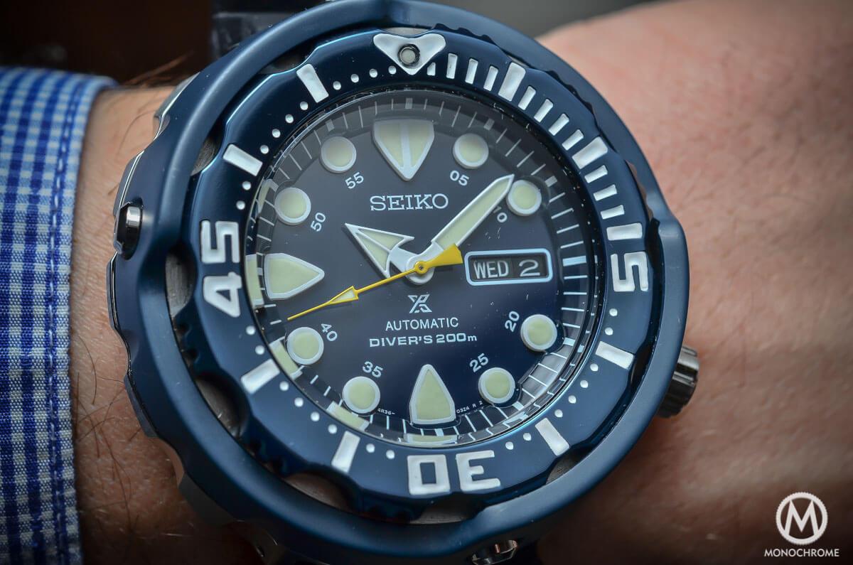 Seiko Prospex Automatic Diver 200m blue SRP653K1 - 3