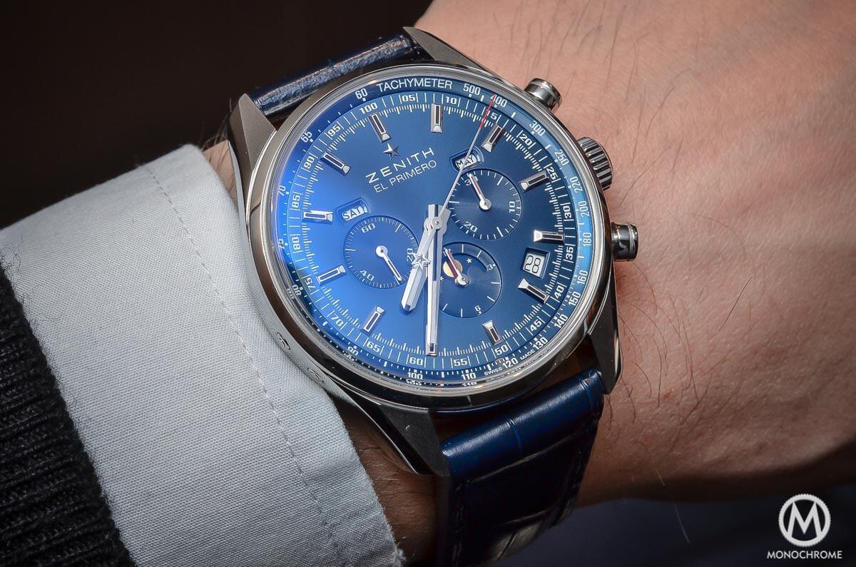 Zenith El Primero 410 Triple Calendar MoonPhase Blue - 8