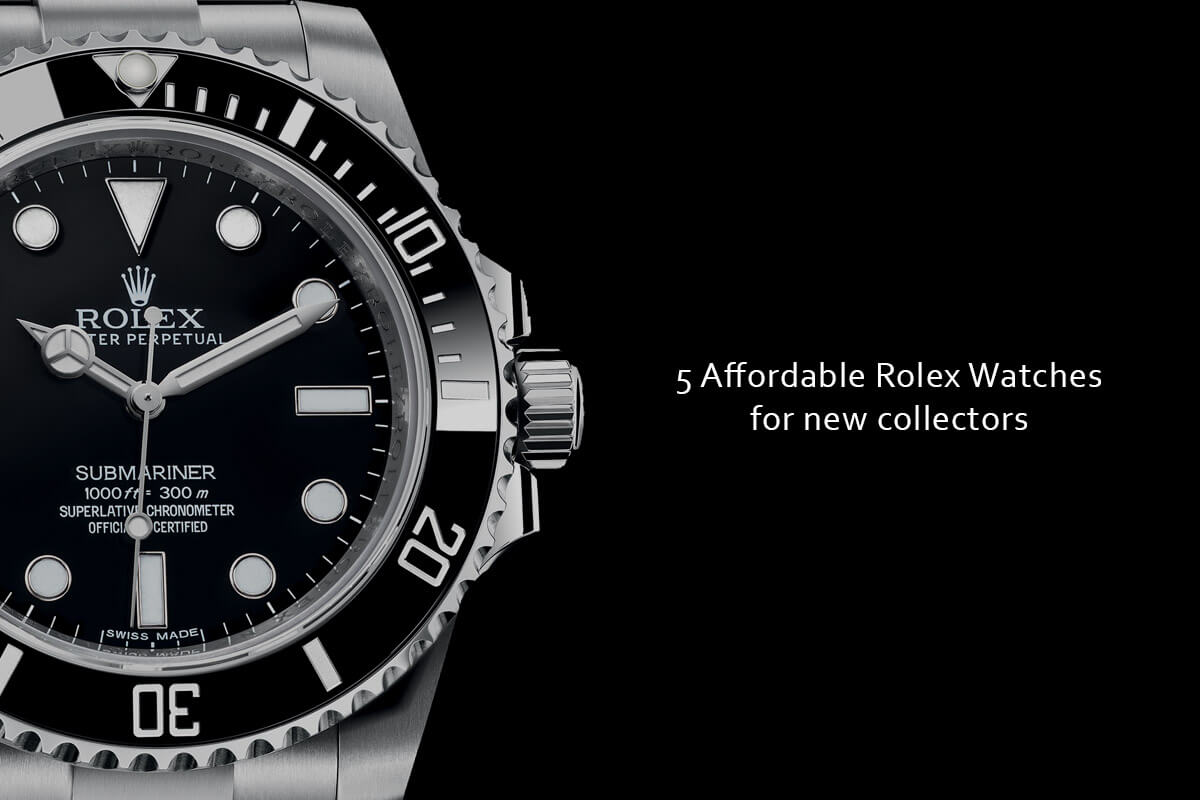 buying guide 5 affordable rolex watches for new collectors rh monochrome watches com Rolex Datejust 41 Rolex Datejust 36
