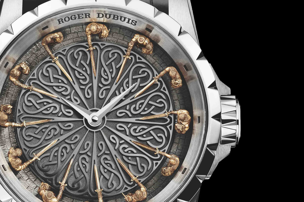 Introducing the roger dubuis excalibur knights of the for 12 knight of the round table