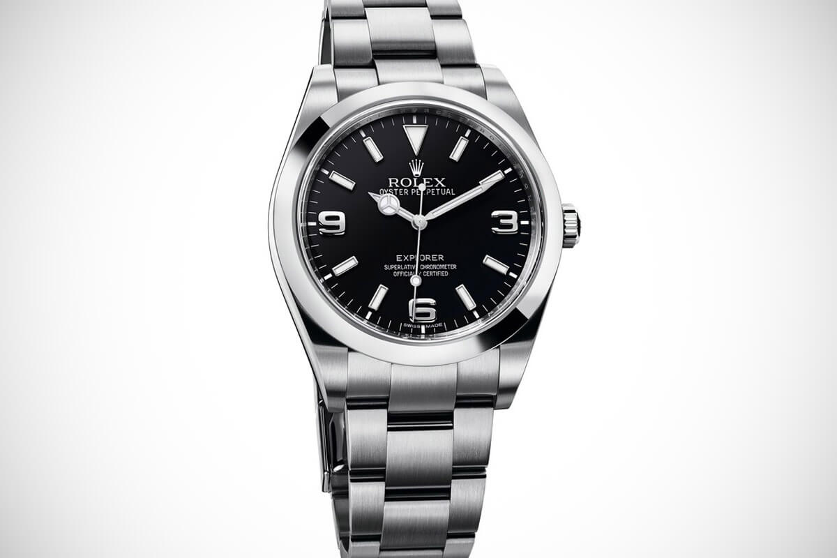 Buying guide 5 affordable rolex watches for new collectors watchtime wednesday monochrome for Rolex explorer