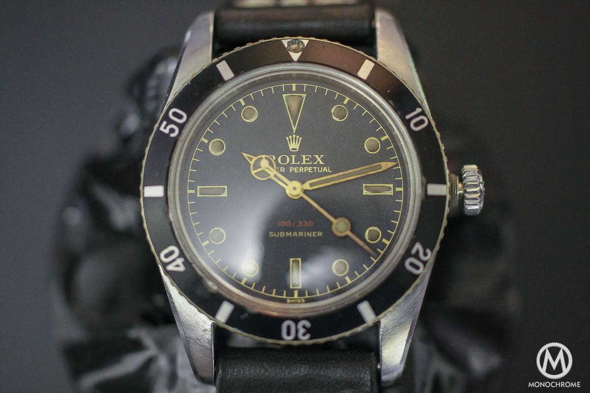 Rolex Submariner Ref. 6536 100m Red Depth Rating 5 digits - 1