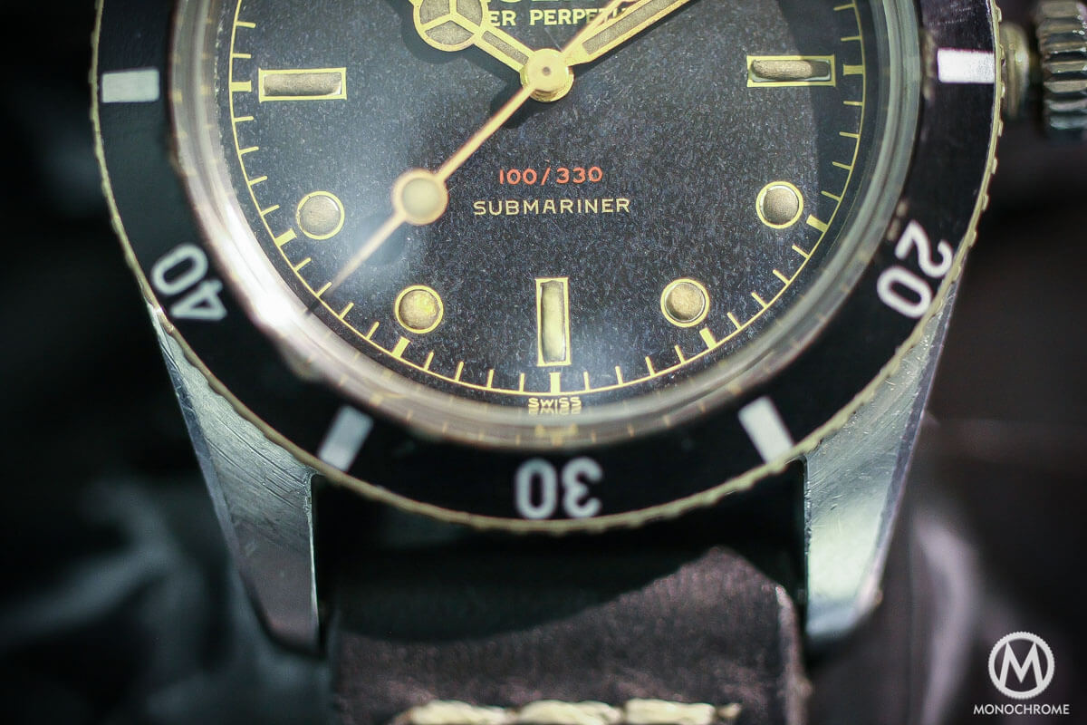 Cool Finds Ultra Rare Early Rolex Submariner Ref 6536