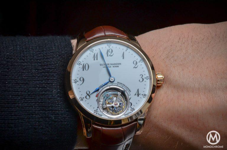 Ulysse Nardin Anchor Tourbillon watch replica