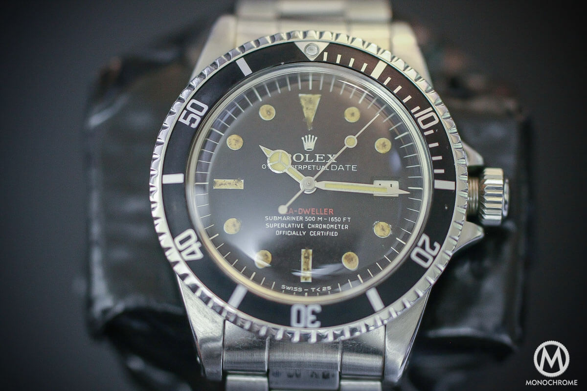prototype Replica Rolex Single Red Sea-Dweller Ref. 1665 - 500M-1650FT - 2
