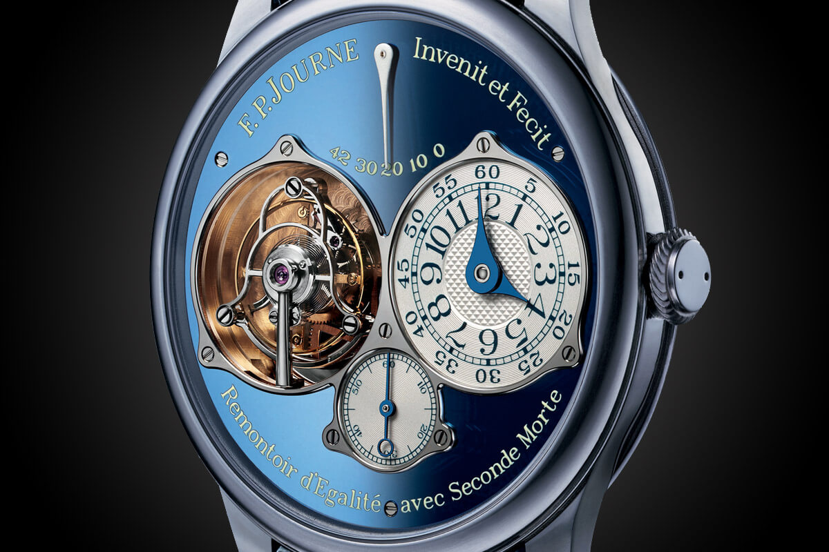 FP Journe Set 5 Very Special Watches In Stainless Steel