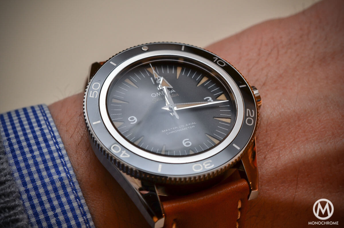 The omega seamaster 300 master co axial chronometer now on for Axil prezzo
