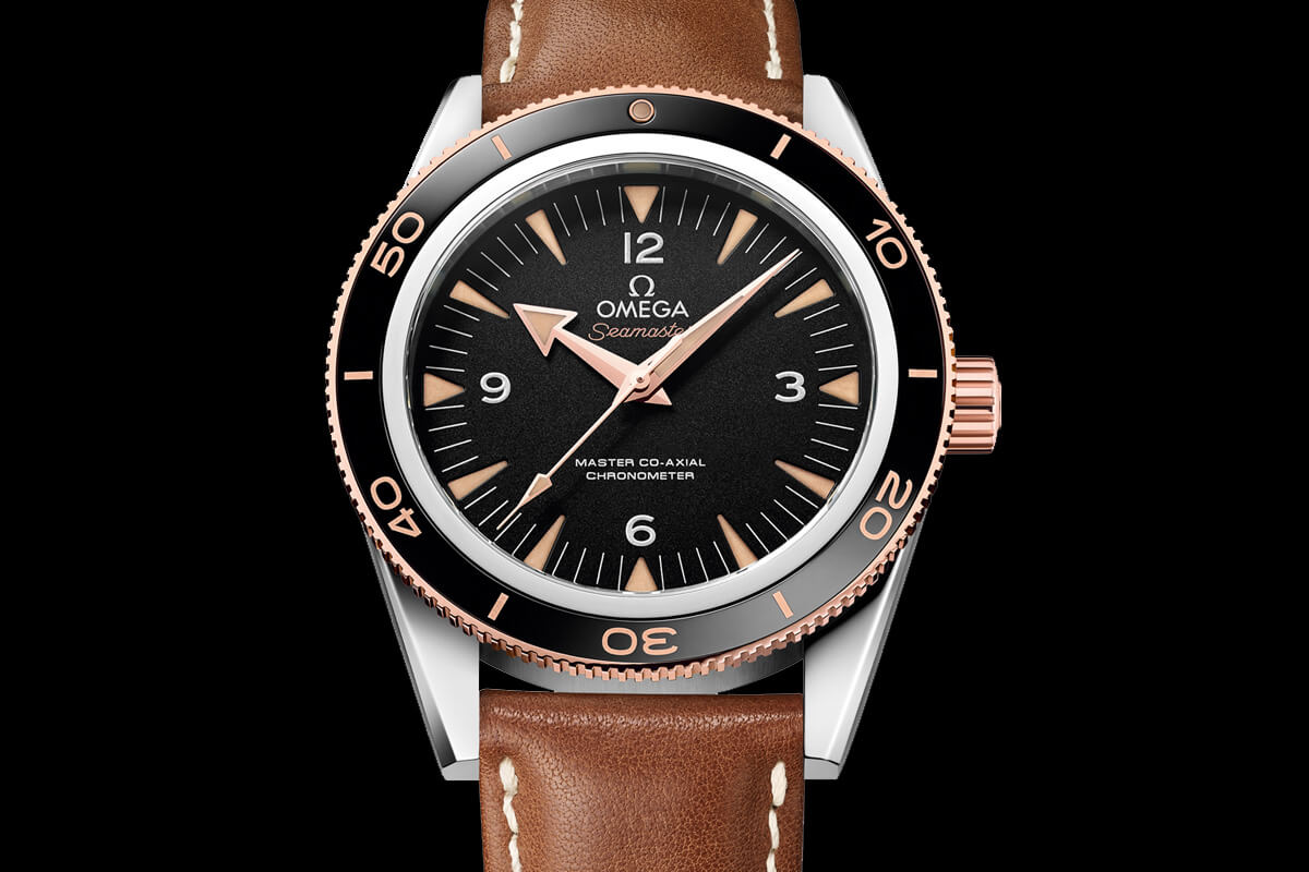 Omega Seamaster 300 Master Co-axial Leather Strap