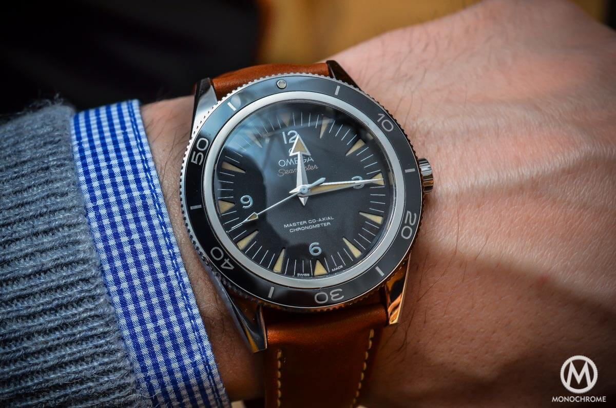 The Omega Seamaster 300 Master Co Axial Chronometer Now On