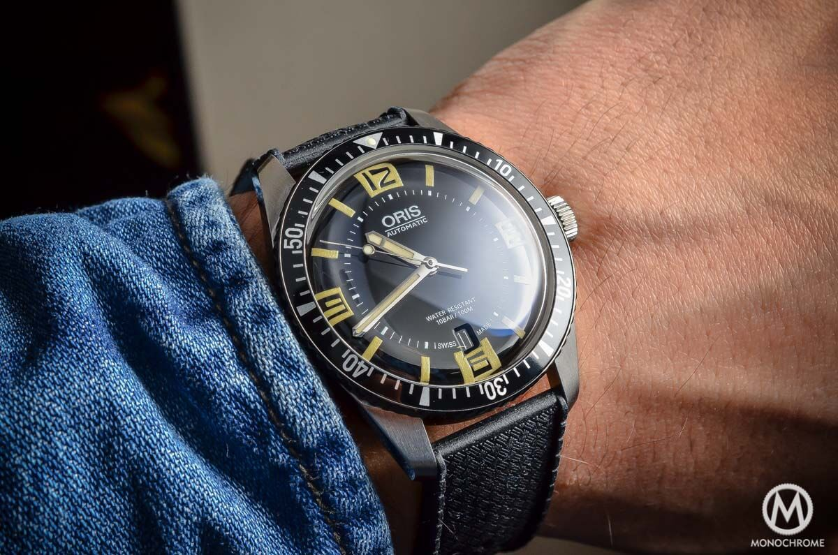 Hands On Review Of The Oris Divers Sixty Five Live Photos