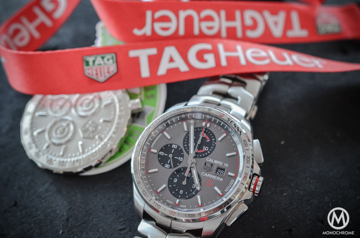 This Tag: Hands-on With The New TAG Heuer Carrera Calibre 16 Senna
