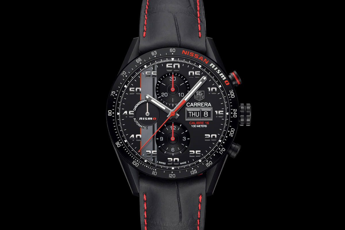 Introducing The TAG Heuer Carrera NISMO Calibre 16 Day