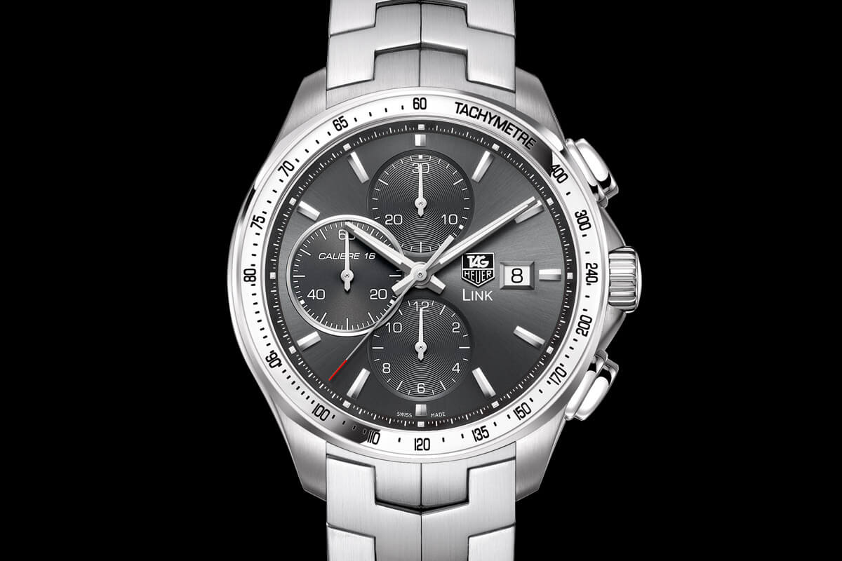 Buying guide 5 affordable tag heuer watches for new collectors watchtime wednesday for Tag heuer chronograph