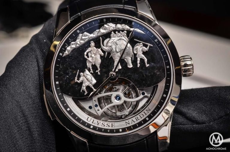 Ulysse Nardin Hannibal Minute Repeater Tourbillon replica watch