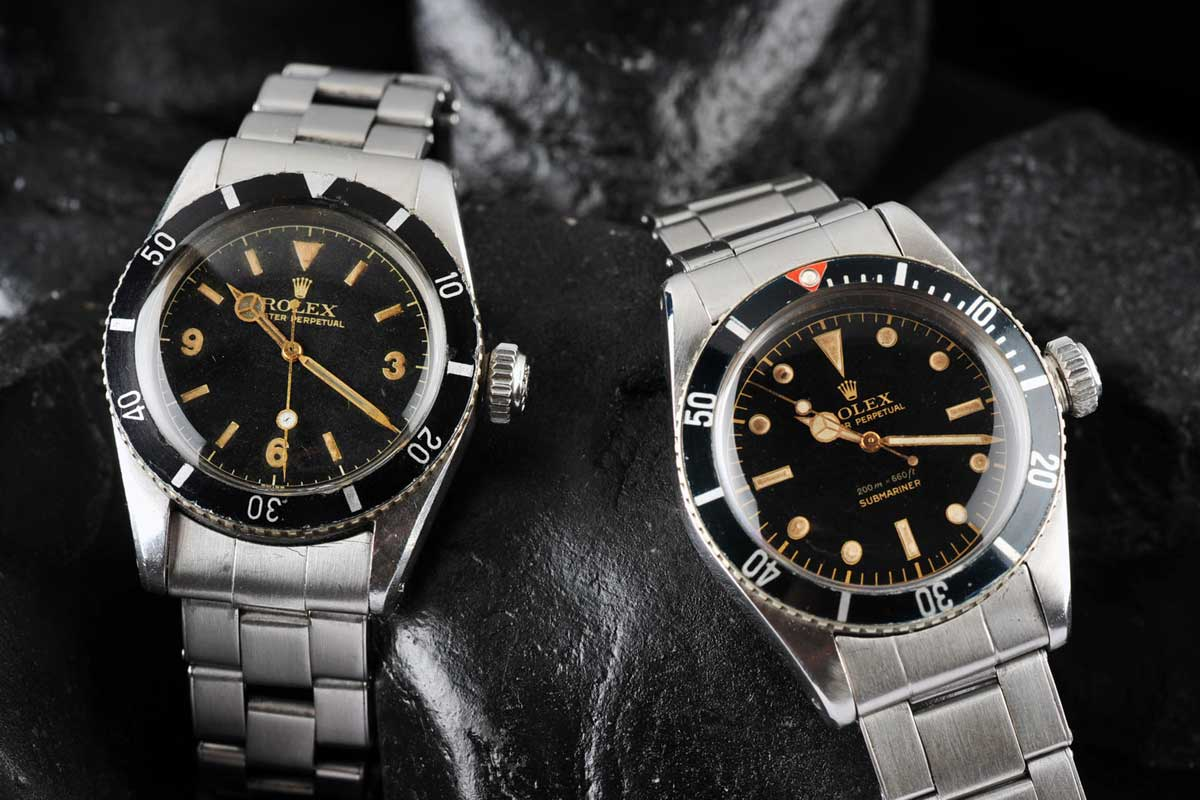 Rolex Submariner Black Dial Cousteau and the...