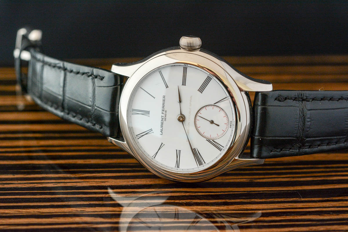 Laurent Ferrier Tourbillon Double Spiral Enamel
