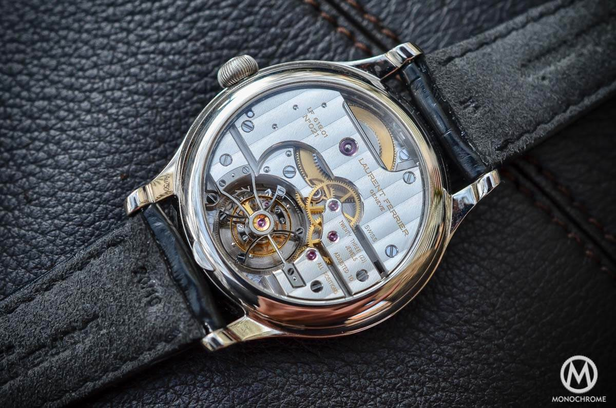 Laurent Ferrier Tourbillon Double Spiral Enamal dial White gold - 6