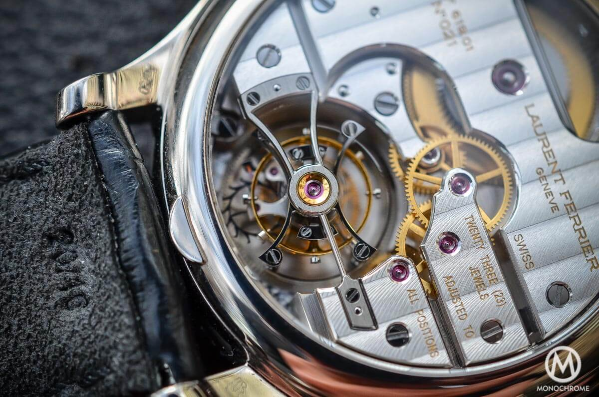 Laurent Ferrier Tourbillon Double Spiral Enamal dial White gold - 7