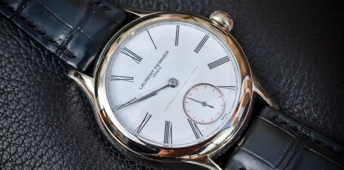 Laurent Ferrier Tourbillon Double Spiral