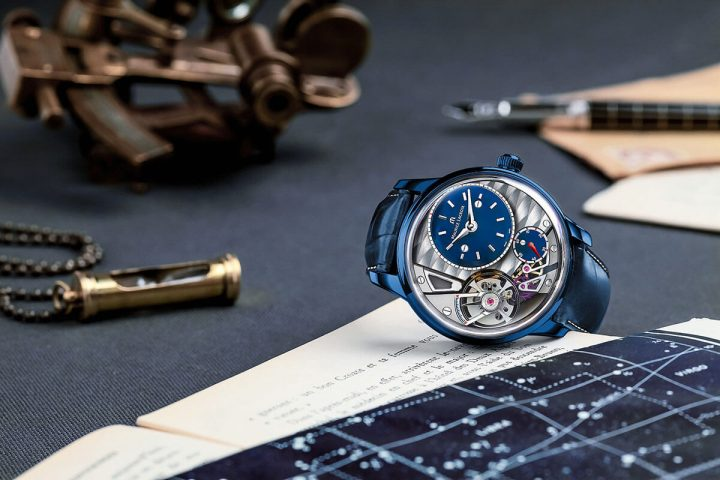 Only Watch 2015 – Unique Maurice Lacroix Masterpiece Gravity in blue