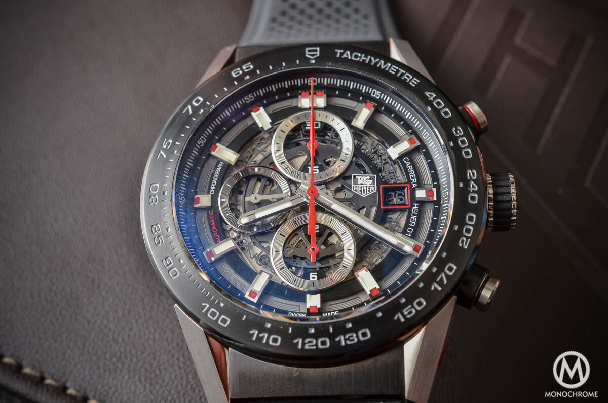 Tag: A Look At The TAG Heuer Carrera Calibre Heuer 01 (Specs